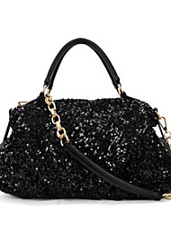 Feizi Women's Elegant All Match Sequin Tote&One Shoulder Bag