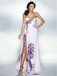 Homecoming Dress A-line Sweetheart Floor-length Chiffon