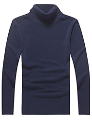 Men's Turtleneck Long Sleeve Casual Sweaters (More Colors Available)