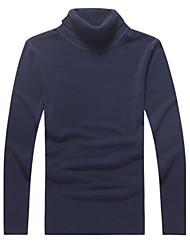 Мужской повседневный свитер с длинным рукавом