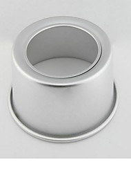 The Aluminum Surface Alloy Processing 6 Inch Round Bottom Cake Mold