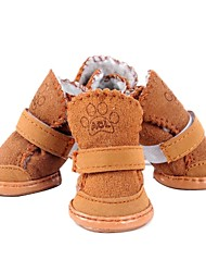 Calcetines y Botas para Perros Invierno XS / S / M / L / XL Material Mixto