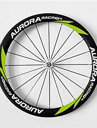 AURORA RACING Road 50T-25mm Full Carbon Tubular Road Bicycle Wheels