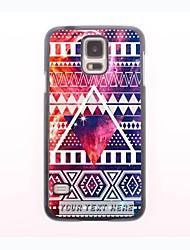 personalisierte Telefonkasten - Dreiecksform Metallgehäuse für Samsung Galaxy S5 mini