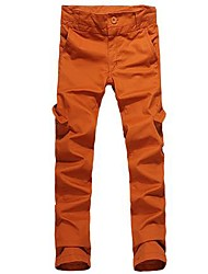 Men's Fashion Multiple Pockets Straight Casual Pants