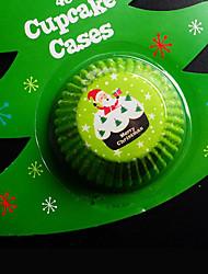 Weihnachten Party-Geschirr Kuchen Accessoires