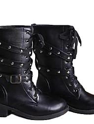 amingna rodada fivela de cinto praça das mulheres decorado com botas elegantes