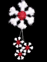 estereoscópicas copo de nieve árbol de navidad decoraciones adornos