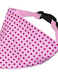 красный горошек платок для собак (среда)