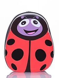 детская леди жук школьный портфель / рюкзак ABS + PC ткани
