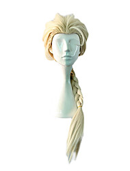 Cosplay Wigs Princess / Fairytale Movie Cosplay Yellow Solid Wig Halloween / Christmas / New Year Female