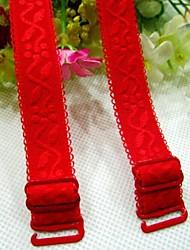 Women's High Elastic Jacquard Bra Straps(Pairs)