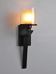 Wall Lights Bronzed Glass Retro Art American Simple 220V