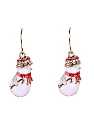 Drop Earrings Alloy Rhinestone Enamel Simulated Diamond Jewelry Party Daily Casual Sports
