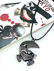 Бижутерия Вдохновлен Токио вурдалак Косплей Аниме Косплэй аксессуары ожерелья Серебро Сплав Мужской