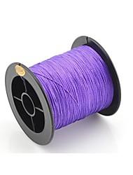 Abrasion Resistant Fishing Line 0.5mm (200m long, 40.2kg,Purple)