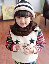 Girl's Galaxy Hoodie & Sweatshirt,Cotton Blend Winter / Fall White / Gray