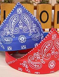 Gatos / Cães Bandanas e Chapéus Vermelho / Azul / Preto Roupas para Cães Primavera/Outono Casamento / Fantasias