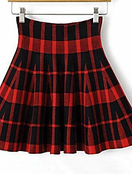 ICED™ Women's Ruffle Check Skirt(More Colors)