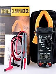 Digital LCD Clamp Multimeter Voltage AC DC Resistance Capacitance Tester