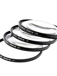 fermer 1/2/4/10 lentilles filtres définis - noir (82 mm / 4 pcs)