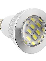 Spot Blanc Froid E14 4 W 16 SMD 5730 280 LM 5500-6500 K AC 100-240 V