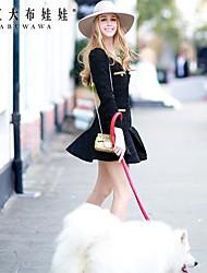 rosa doll® cucitura delle donne vestito sottile elegante ol