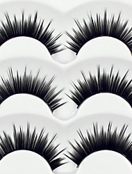 Eyelashes lash Eyelash Thick / Natural Long Volumized / Natural / Thick Fiber