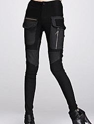 Women's Black Skinny Pants , Casual