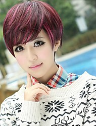 Fashionable Sweet Charming Short Stright Side Bang Hair Wig