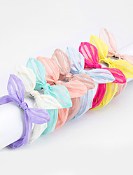 1PC Korean Bunny Ears Headband(Random color)