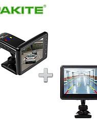 PAKiTE Smart Wireless Car Black Box with Reverse Camera System, 3.5 inch Mode PAT-860HD