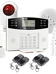 GS-G110E Wireless GSM Home Alarm System with Voice Indication