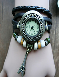 moda Huashi pulseira do vintage relógio