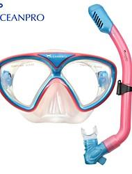 OceanPro gaea garoto set snorkel máscara