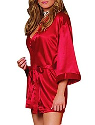 Women's Europe And The United Bathrobes Pajamas Sexy Lingerie