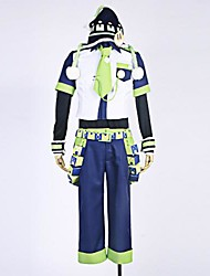 Inspired by Dramatical Murder Noiz Anime Cosplay Costumes Cosplay Suits Patchwork BlueT-shirt / Shirt / Pants / Hat / Tie / Sleeves /