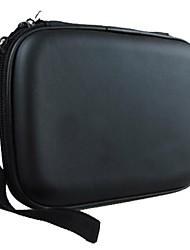 Eva noire de couverture de cas pour Toshiba bases canvio Slim / samsung m3 Slimline / transcender disque dur externe portable USB3.0