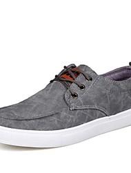 Zapatos de Hombre - Sneakers a la Moda - Casual - Tela - Azul / Negro / Gris