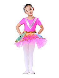 Ballet Children's Modern Spandex Yarn Dancewear