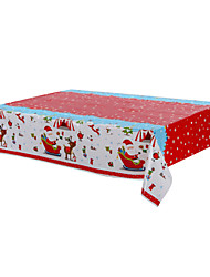 Santa Claus Pattern Disposable Christmas Party Tablecloth,120*180cm