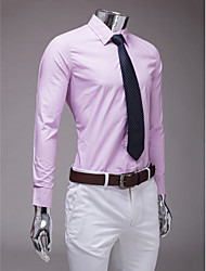 Lilac Slim Fit Long Sleeve Shirt