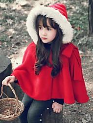 bowknot grande cape crianças vermelhas outwear natal