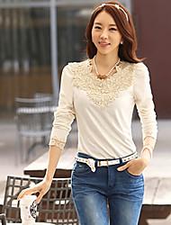 An Belard New Korean Beads Causal Slim Long Sleeve  Bottoming Shirt