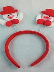 Christmas Party Cute Snowmen Hat  Hair Head Band