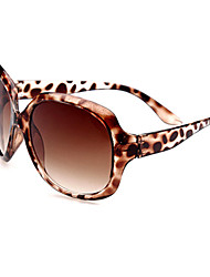 Sunglasses Women's Classic / Retro/Vintage / Sports Oversized Black / White / Brown / Leopard Sunglasses Full-Rim