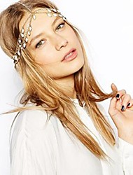 Women's Fashion Gem Tassel Headband