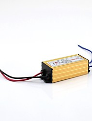 6-9x1W External LED Driver AC100-240V to DC 18-35V 300MA Waterproof  with Aluminium Case