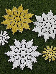 5Pcs Christmas Holiday Scene Decoration Gifts Christmas Snowflake