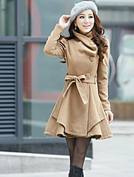 Women's All Match Solid Color Coat